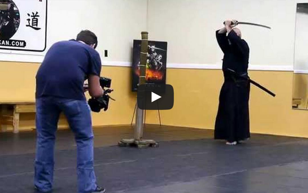 Toku Bu Kan Sword Demo – 47 Ronin Movie Press Event