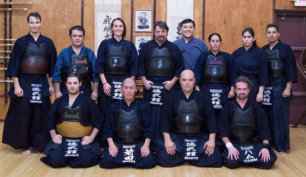 Maeda Sensei visits