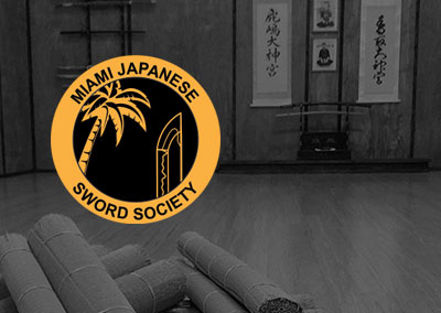 Grand opening of the Miami Japanese Sword Society